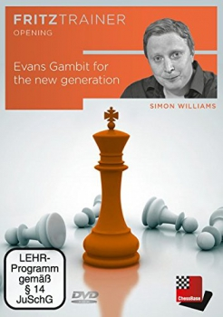 Evans Gambit for the new generation von  Simon Williams