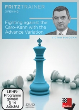 Fighting against the Caro-Kann with the Advance Variation von  Viktor Bologan
