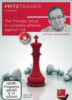 The Triangle Setup - A complete defense against 1.d4 von  Michal Krasenkow