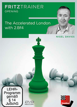 The Accelerated London with 2.Bf4 von  Nigel Davies